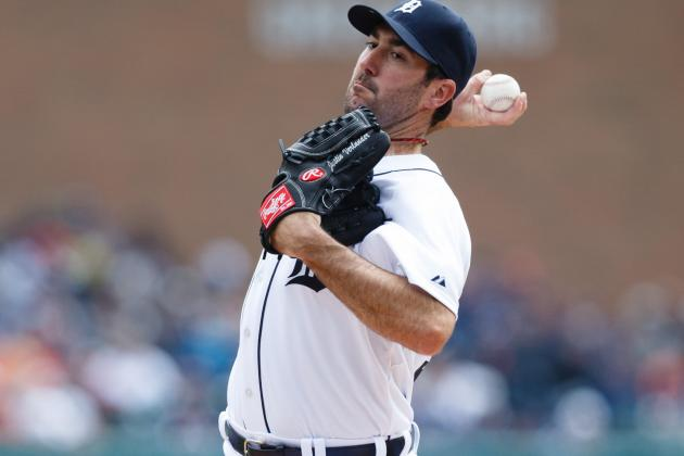 Justin Verlander Day-to-Day with Cracked Skin on Thumb
