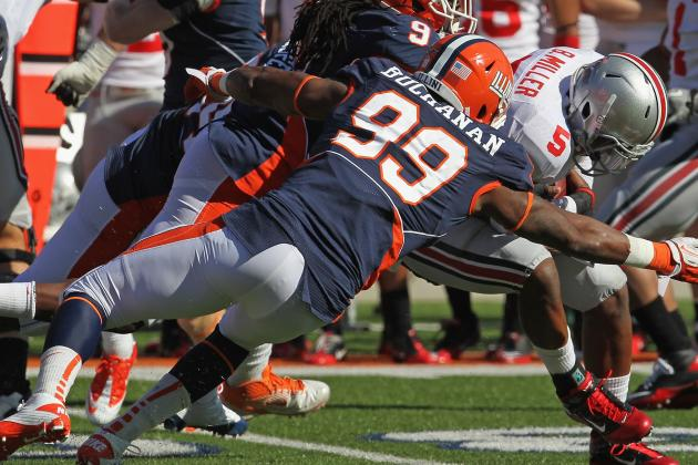 Illinois DE Michael Buchanan Eager to Start NFL Career