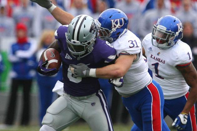 Speedy KU LB Heeney Making Up for Time Spent Standing Still
