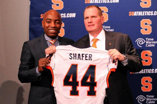 Scott Shafer: 'Hell Yeah. We Have a QB Controversy'