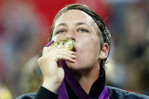 Concussion Precautions to Sideline Abby Wambach for Home Opener