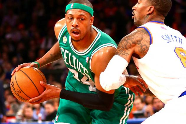 Is 2013 NBA Playoffs the Last We'll See of Paul Pierce in Boston Celtics Green?