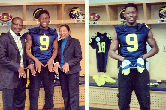 Instagram: Stud WR Commits to U-M