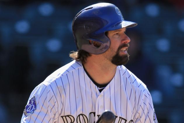 Rockies Place INF Todd Helton on DL
