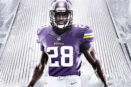 Minnesota Vikings 2013 Nike Elite 51 Uniform