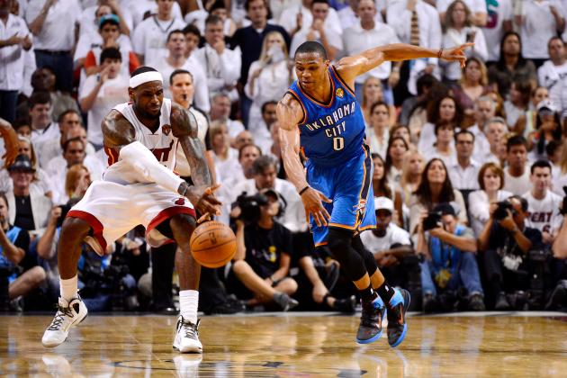 NBA Playoffs 2013: Heat and Thunder on Collision Course to Meet in NBA Finals