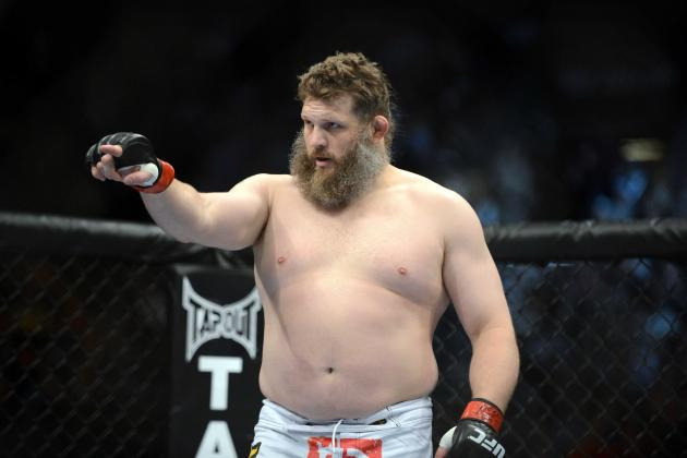 UFC 159 Fight Card: Roy Nelson vs. Cheick Kongo Has the Makings of a Classic