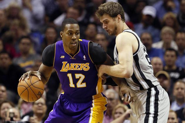 Dwight Howard Accuses Spurs of Flopping