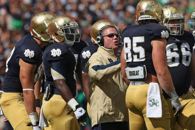 Notre Dame Football: Most Dangerous Games on Irish's 2013 Schedule