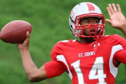 St. John's (D.C.) Quarterback Will Ulmer Commits to Maryland