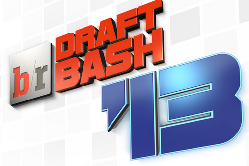 Draft Bash 2013: B/R's Live Draft Party: THURSDAY EDITION