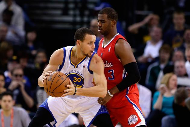 Chris Paul vs. Steph Curry: Which Star PG Wins a Title First?