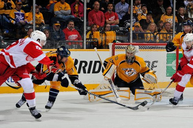 ESPN Gamecast: Predators vs. Red Wings