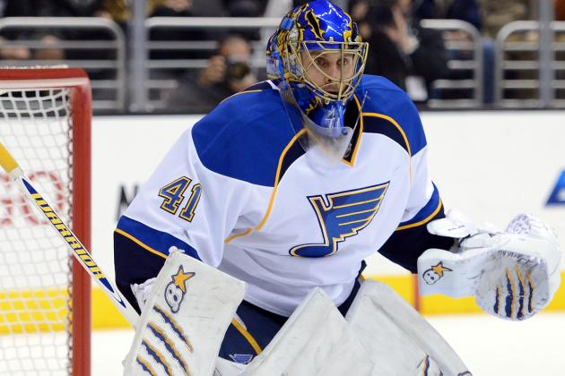 Blues Activate Goalie Halak from Injured List