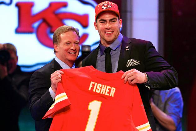 Eric Fisher Selected No. 1 Overall in 2013 NFL Draft