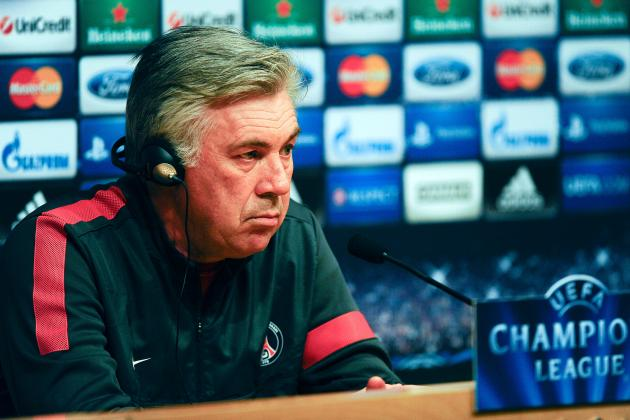 PSG Looking to Future Without Ancelotti?