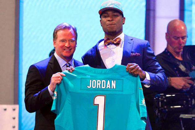 Miami Dolphins Select Dion Jordan with No. 3 Pick in Trade with Oakland Raiders