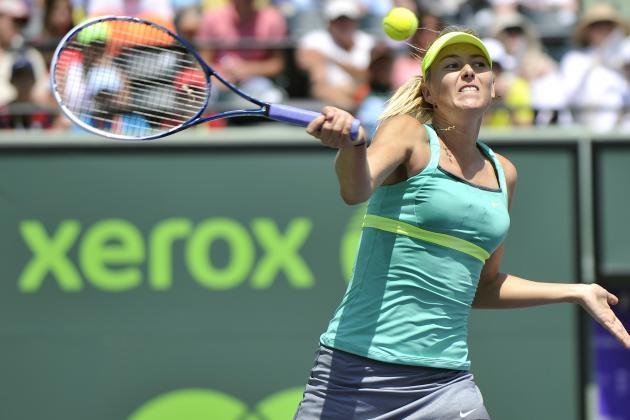 Sharapova Needs More Than 3 Hours to Win