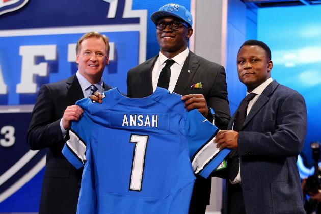 2013 Detroit Lions NFL Draft: Instant Analysis of BYU DE Ezekiel Ansah at Fifth
