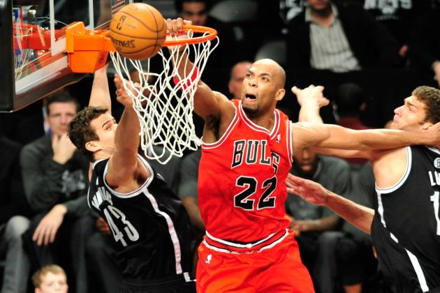 Video: Taj Gibson Throws Down Poster Dunk on Kris Humphries