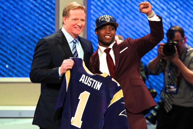 St. Louis Rams Select Tavon Austin with No. 8 Pick in Trade with Buffalo Bills