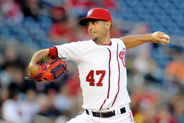Gonzalez Dominant as Nats Beat Reds 8-1