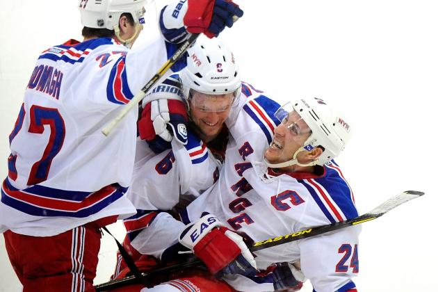 Rangers, Sens Clinch Final Playoff Spots in East