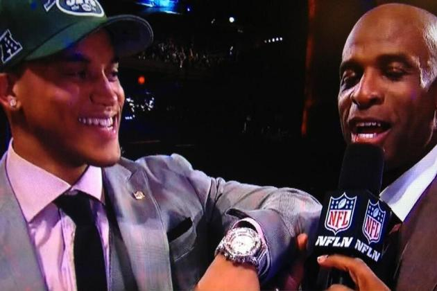 PHOTO: Dee Milliner's NFL Draft Watch Raises Eyebrows
