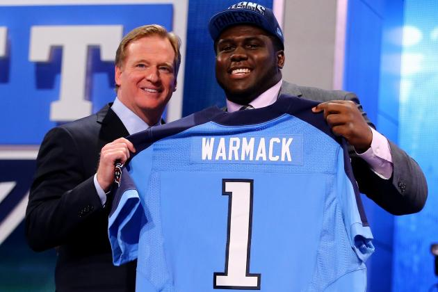 Chance Warmack to Titans: How Does Guard Fit with Tennessee?