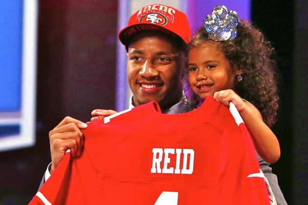 San Francisco 49ers Select Eric Reid with No. 18 Pick in Trade with Cowboys