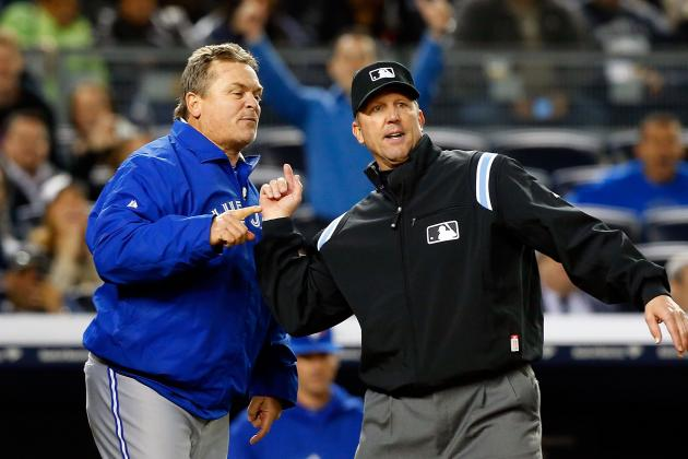 Gibbons Ejected Again in Jays' Loss to Yanks