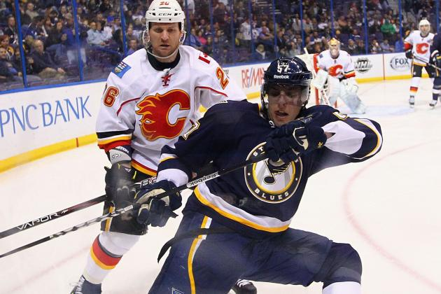 Blues Close in on No. 4 Seed, Beat Flames
