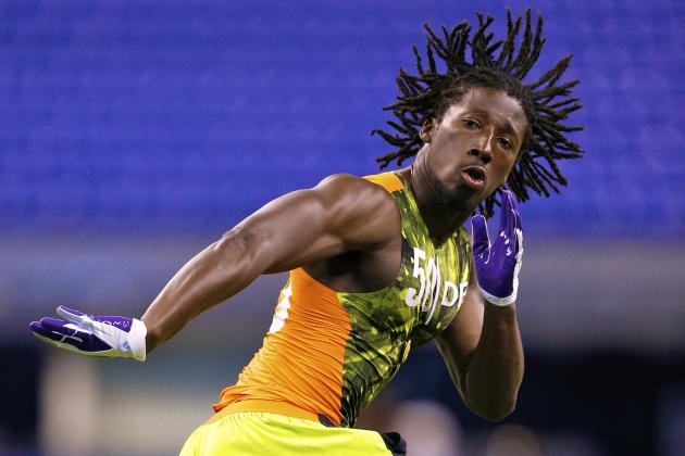 Atlanta Falcons Select Desmond Trufant with No. 22 Pick in Trade with Rams