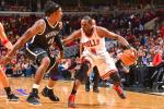 Bulls Hold Off Nets to Take 2-1 Advantage