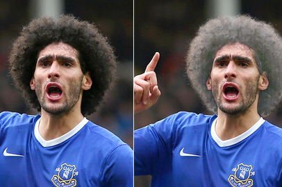 Fellaini Will Dye Hair Silver If Donation to Charity Is Met