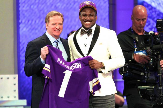 Vikings Select Cordarrelle Patterson with No. 29 Pick in Trade with Patriots