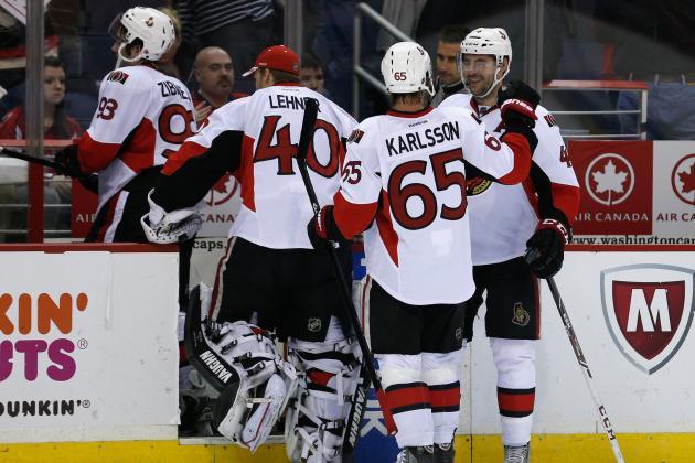 Sens Get Karlsson Back, Clinch Playoff Spot