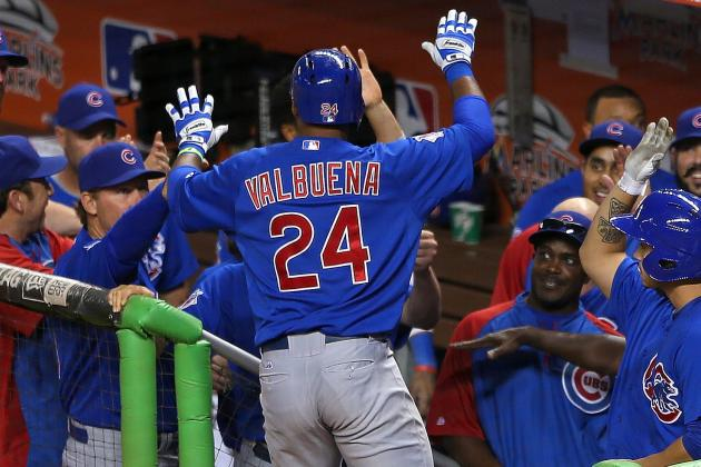 Valbuena's Tie-Breaking Homer in 9th Lifts Cubs