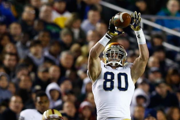 Draft-Night Wait Easier for ND's Eifert Than for Te'o