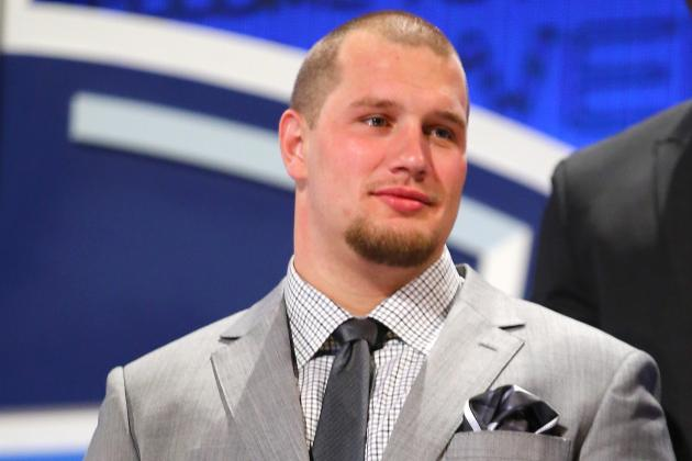Eagles' 1st Round Pick Lane Johnson Says He's Ready to Start Right Now