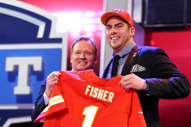 Chiefs Select OL Eric Fisher with No. 1 Overall Pick in NFL Draft