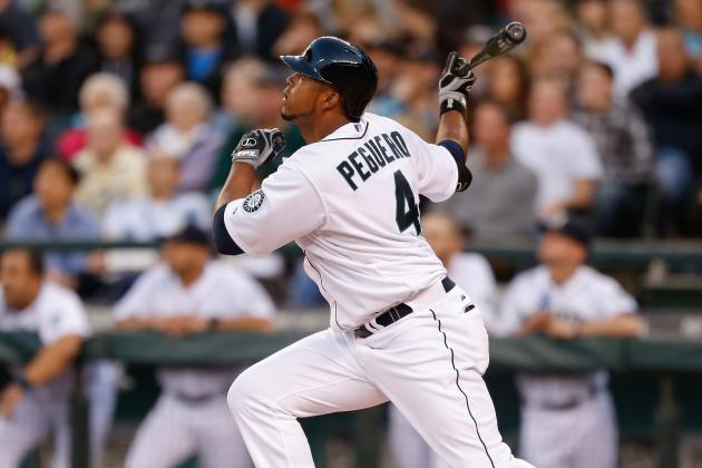 Peguero's First-at-Bat Homer Keys Mariners