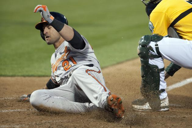 Orioles 10, Athletics 2