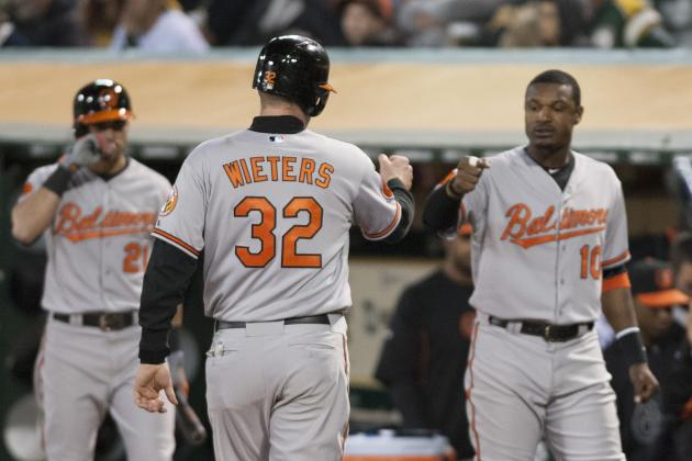 Orioles Pound A's to Open Series