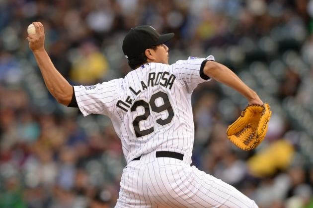 Rockies Lose to Diamondbacks Despite Solid Outing by Jorge De La Rosa