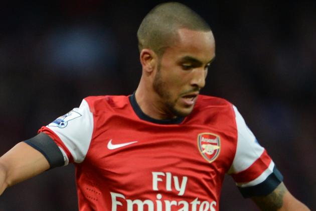 Theo Walcott Believes Arsenal Can Finish in the Top Four