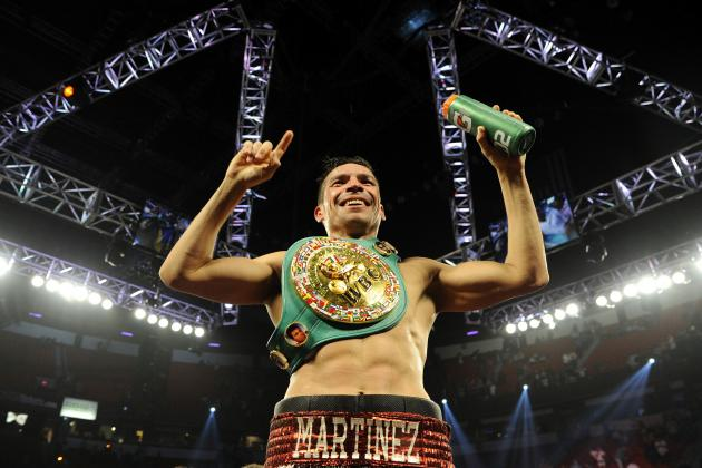 Sergio Martinez vs Martin Murray Video: Watch Live Weigh-in for Saturday's Fight
