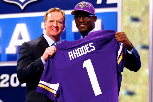 2013 NFL Draft: Minnesota Vikings Clear Winners of Day 1