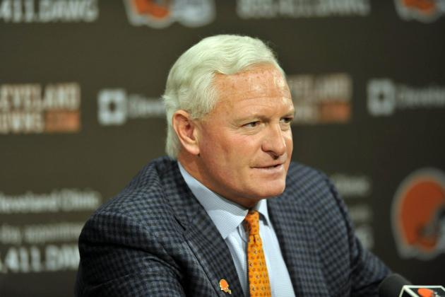 Browns Owner Haslam Speaks at Draft Event
