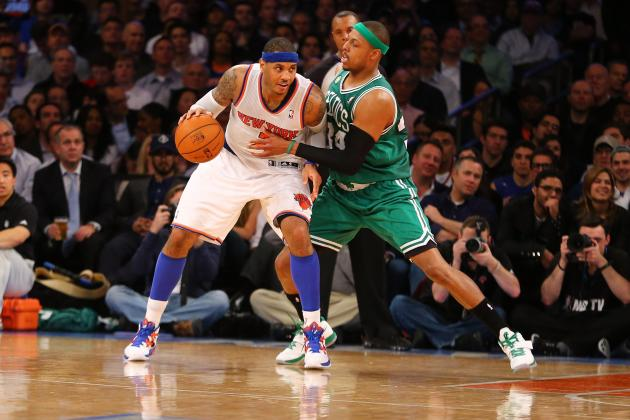Knicks vs Celtics: Carmelo Anthony Needs to Shut the Door on Boston in Game 3
